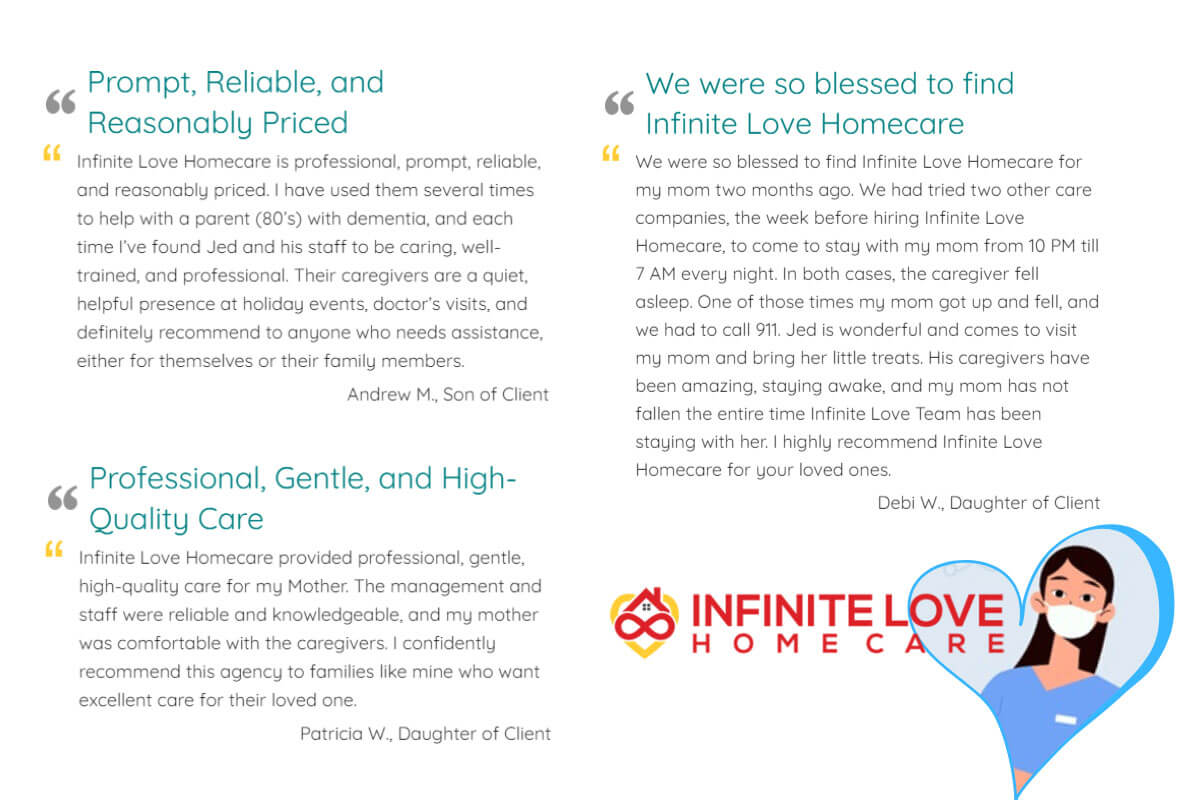 Infinite Love Home Care Testimonials