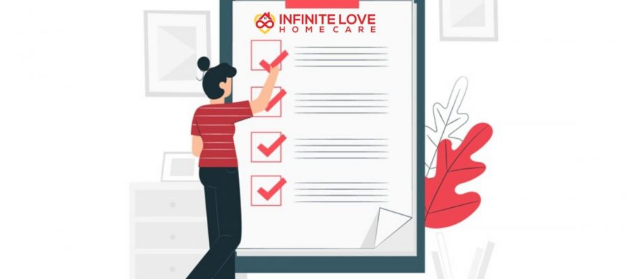infinite love home care checklist
