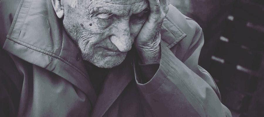 Helplessness - Desperate Old Man