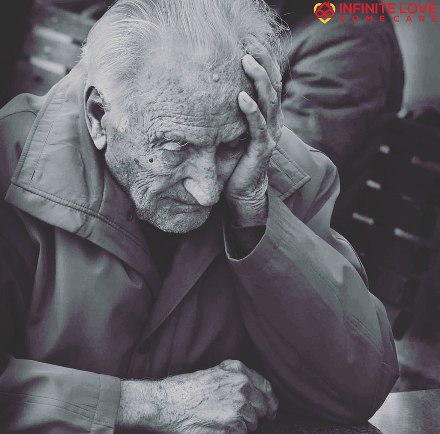 Helplessness - Desperate Old Man
